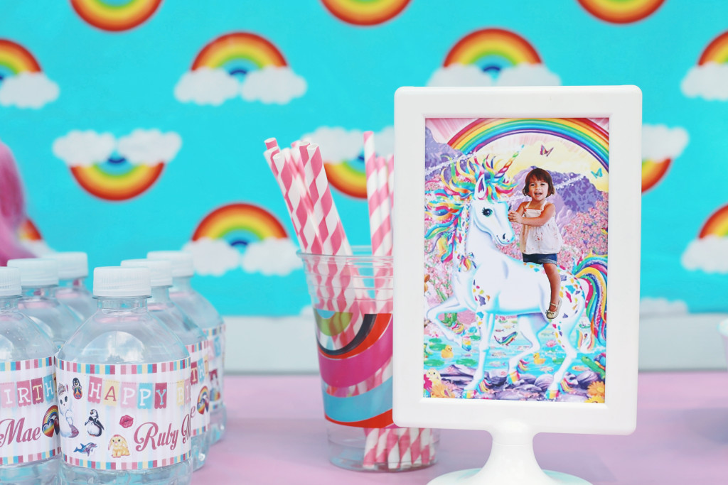 Lisa Frank Birthday Party by Lookie Boo