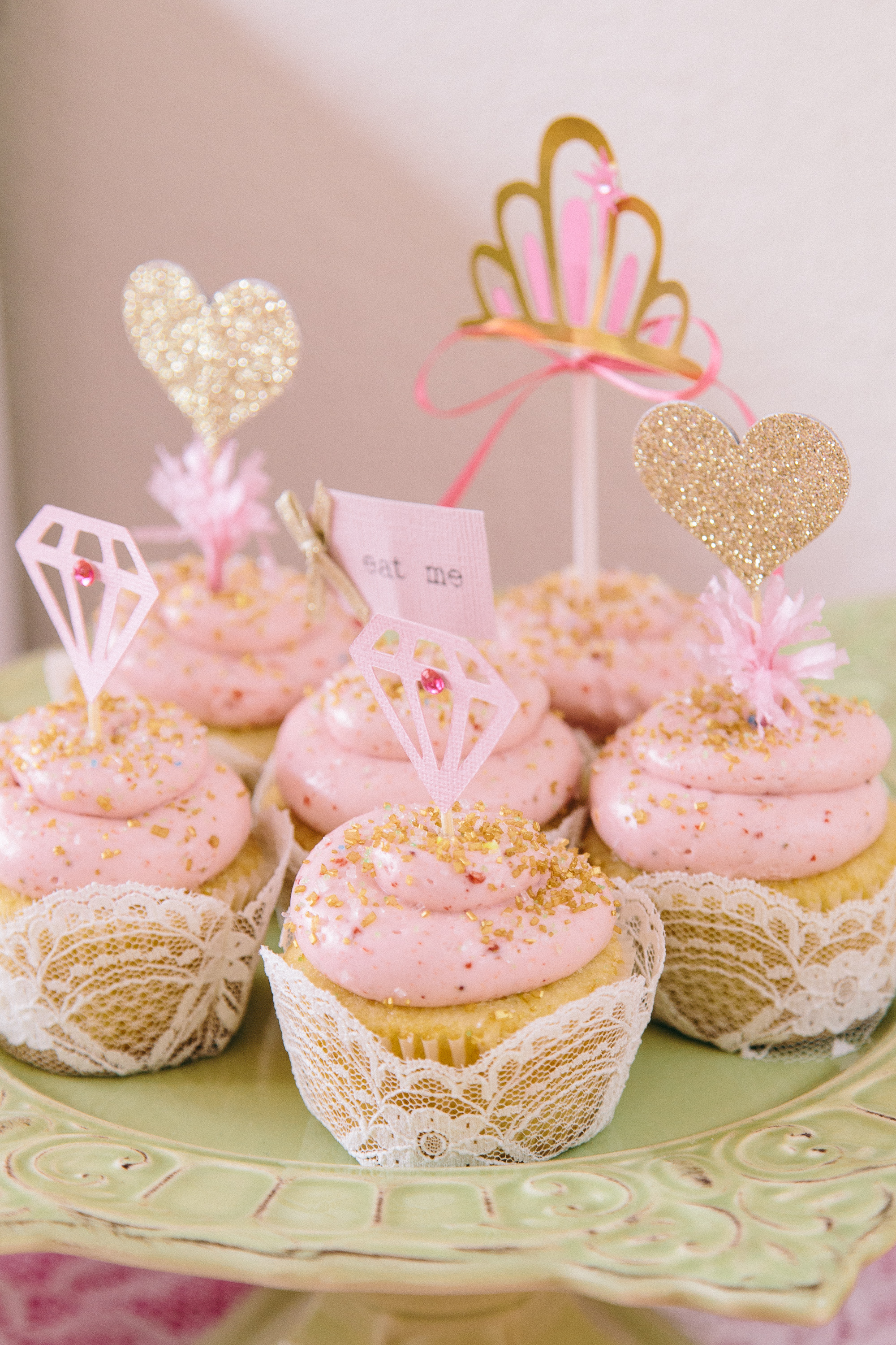 """The PARTY That Etsy Built: Ruby Mae\'s Pink & Gold """"Beauty Queen ..."""
