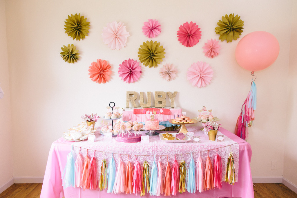 The Party That Etsy Built Ruby Mae S Pink Amp Gold Beauty