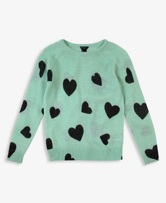 Forever 21 Girls Heart Sweater