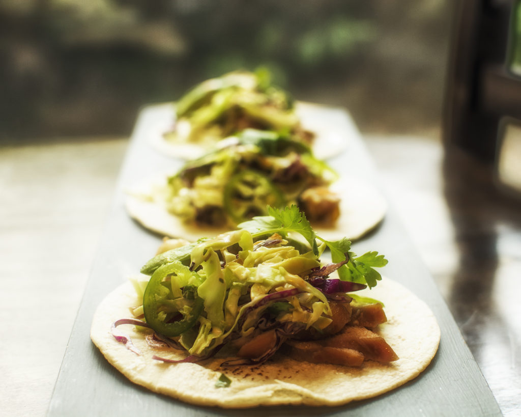 Asian Chicken Tacos by Chef Michael Reese