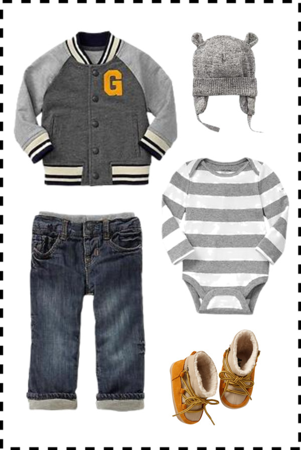 Baby Boy Fall Outfit Inspiration via BabyGap