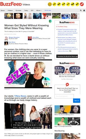 Buzzfeed video lookie boo Tiffany Reese stylist