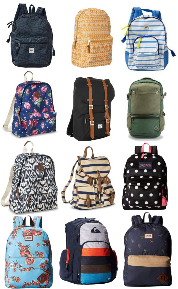 Favorite Backpacks for Back to School 2014