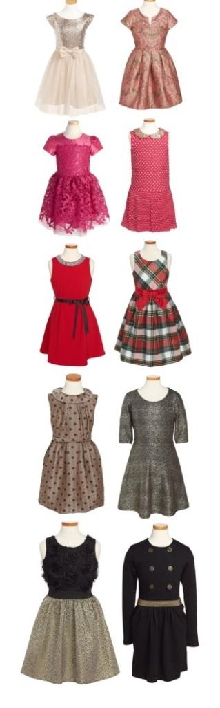 Holiday Dresses for Girls via Nordstrom