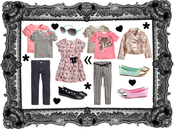 H&M USA Looks for Little Girls | Lookie Boo