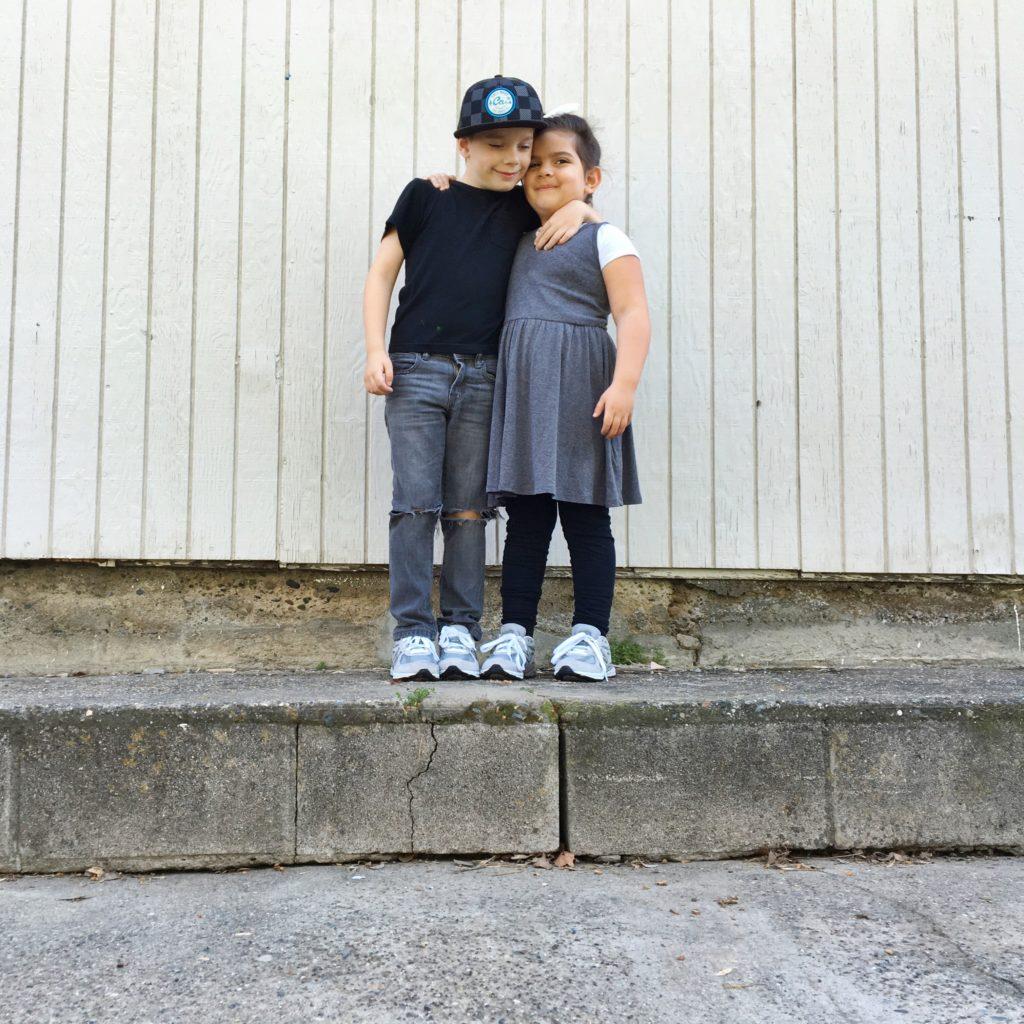 New Balance Kids Shoes // via Lookie Boo