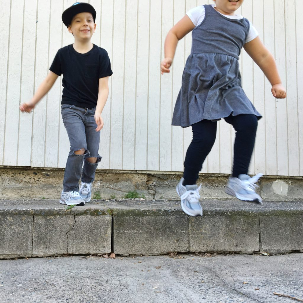 New Balance Kids Shoes // via Lookie Boo
