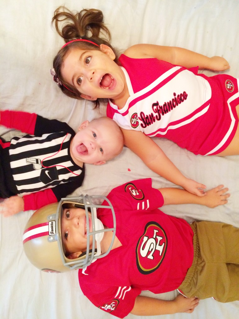 NFl Kids costume ideas via Lookie Boo