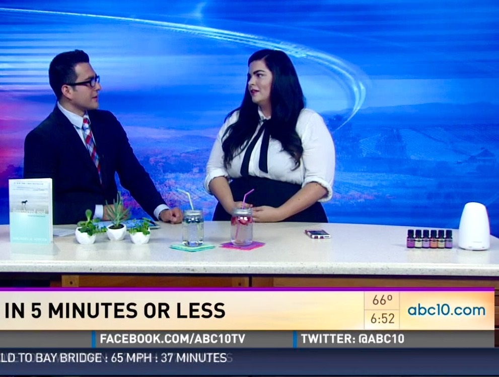 Lookie Boo Tiffany Reese ABC10 Sacramento Instant Zen Relaxation Day 5 minutes or less