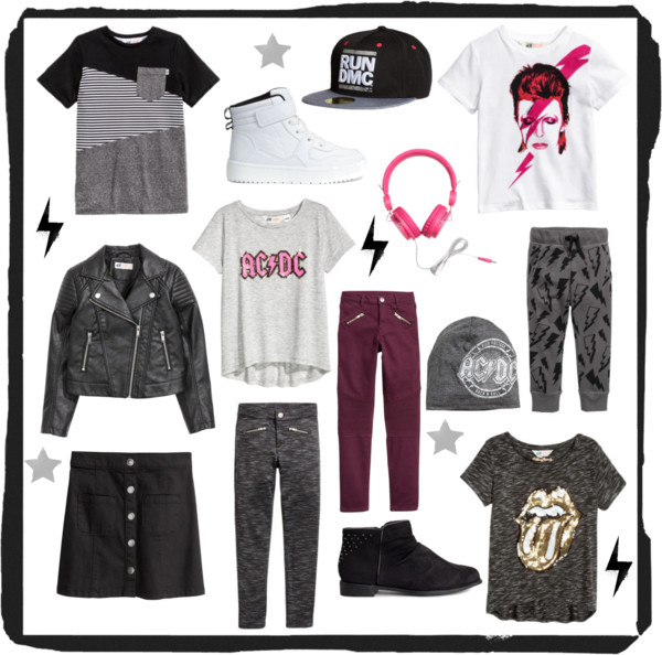 Rock The Look HM USA LOOKIE BOO KIDS FASHION FALL TRENDS 2016