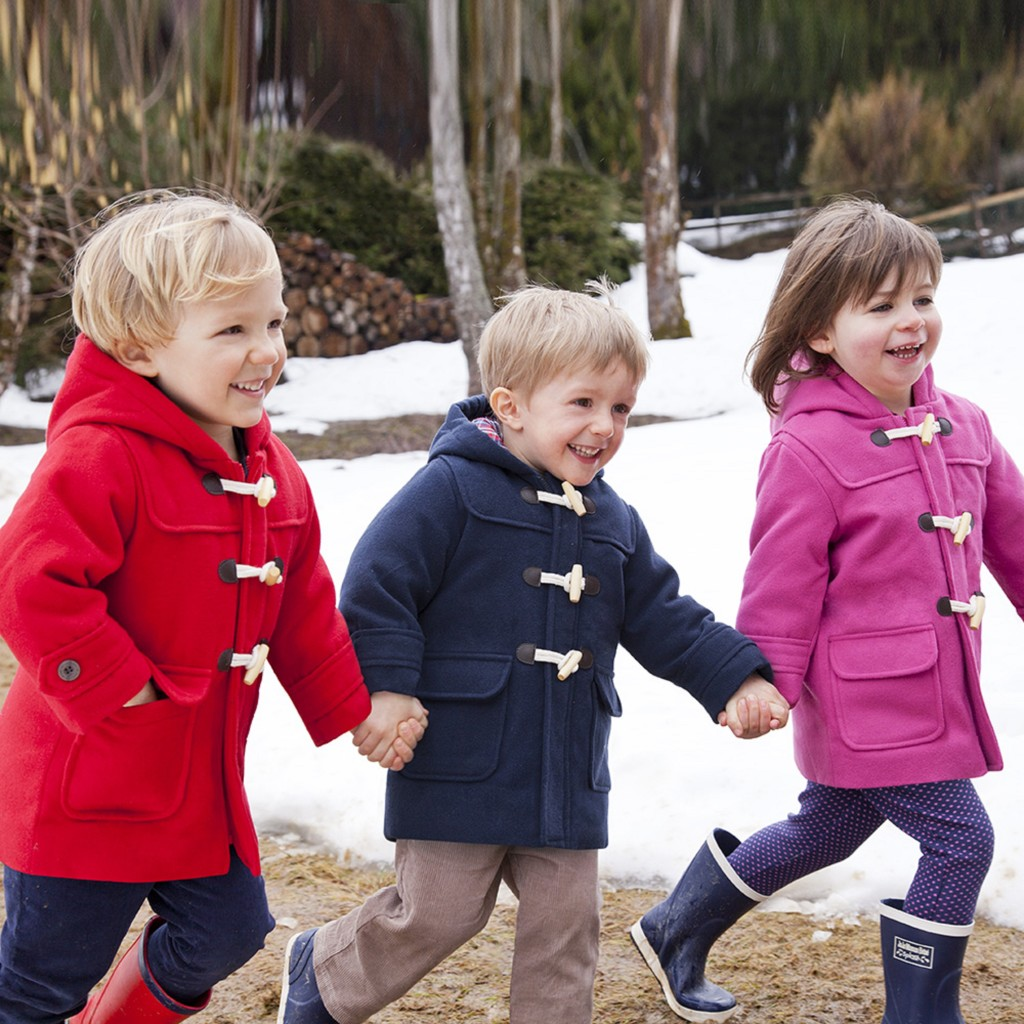 Traditional Children's Duffle Coats
