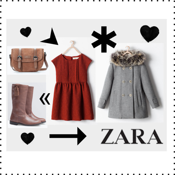 Zara Girls Fall Winter Look