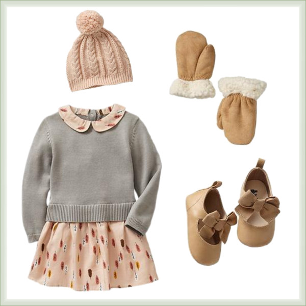 babyGap Baby Girls Fall Outfit