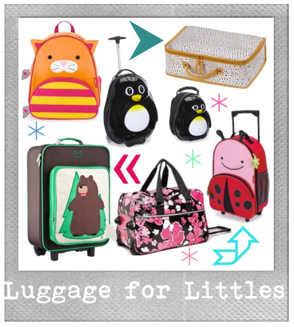 Lookie Boo Luggage for Kids littles toddlers fashion blog for kids
