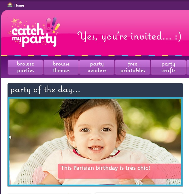 catch my party paris party