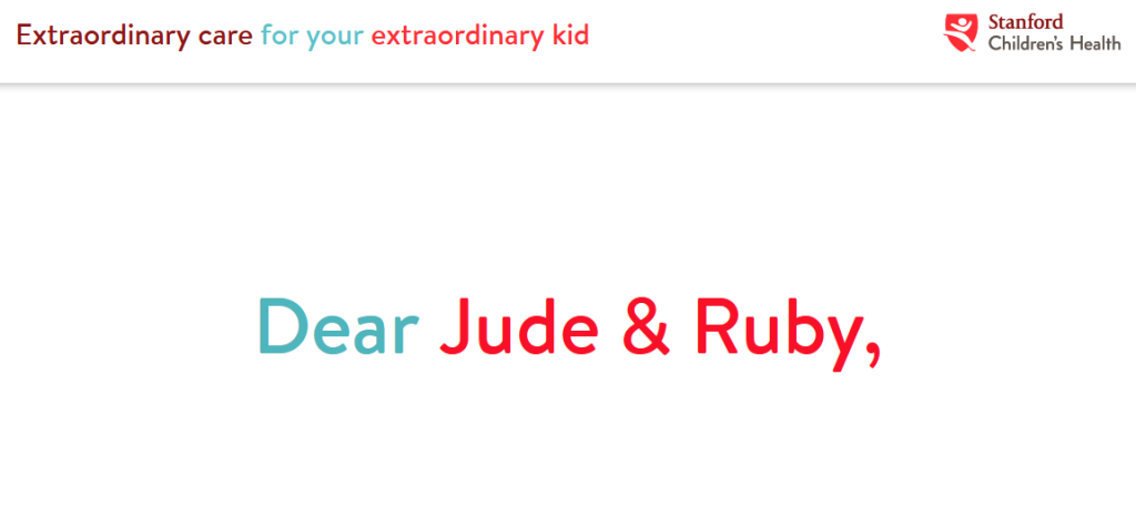 dear jude and ruby