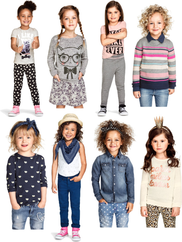 lookie boo H&M usa fall 2014 Girls