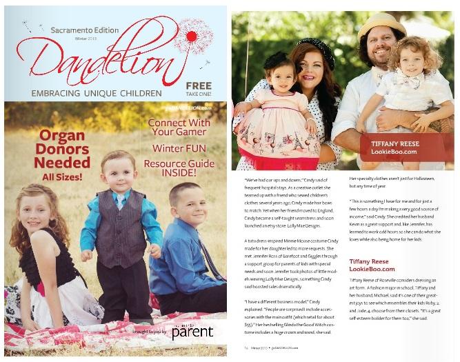 lookie boo article dandelion magazine sacramento parent